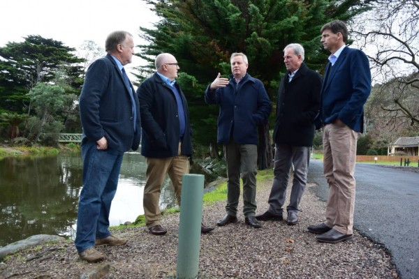 Funds flowing for flood mitigation project at Latrobe