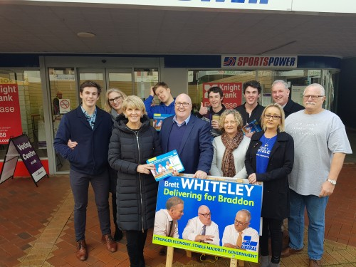 Braddon By-Election Campaign Trail
