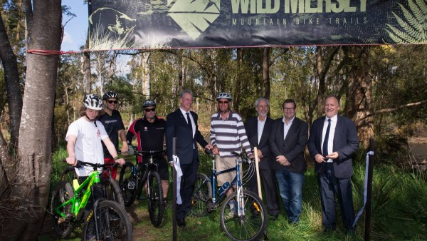 Wild Mersey Mountain Bike project launched in Latrobe on Friday