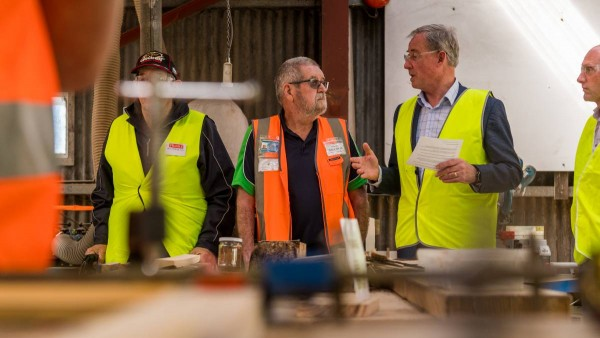 Burnie and Devonport Men's Sheds have both received funding