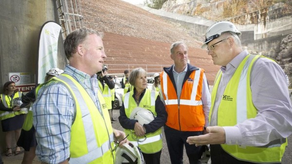 PM Scott Morrison pumps up Tasmania's hopes to turbocharge state like never before