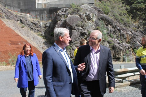 Pumped Hydro Marinus Link with PM Morrison