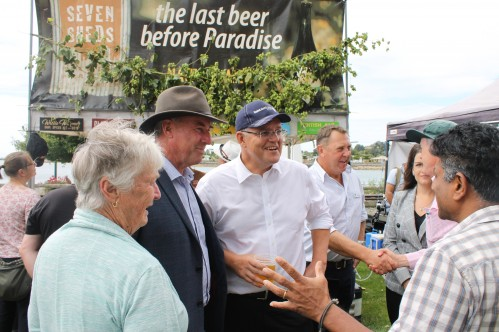 Taste of the Harvest with PM Morrison