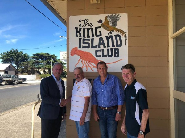 King Island Club receives Building Better Regions Fund grant to replace roof