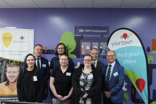 yourtown Youth Employment with Minister Fletcher