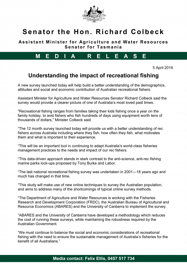 Understanding the impact of recreational fishing