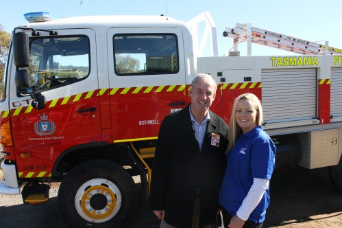 Miena Bushfires Thank You event