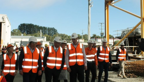 Battery of the Nation Training at VEC with Prime Minister Morrison and Minister Cash