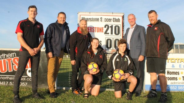 Liberal Senator Richard Colbeck announces federal funding kick for Ulverstone Soccer Club