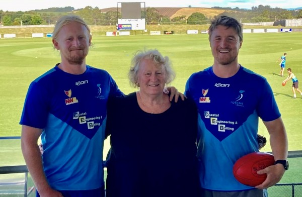 Canteen call-up a footy fixture for Lyn