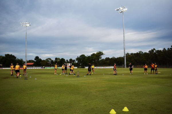 New lights to boost cricket and AFL numbers at Marrara